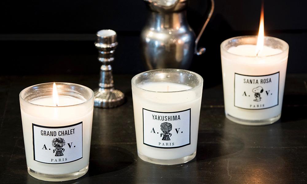 ASTIER de VILLATTEの香り パフュームキャンドルを灯して 香りの世界旅行へ