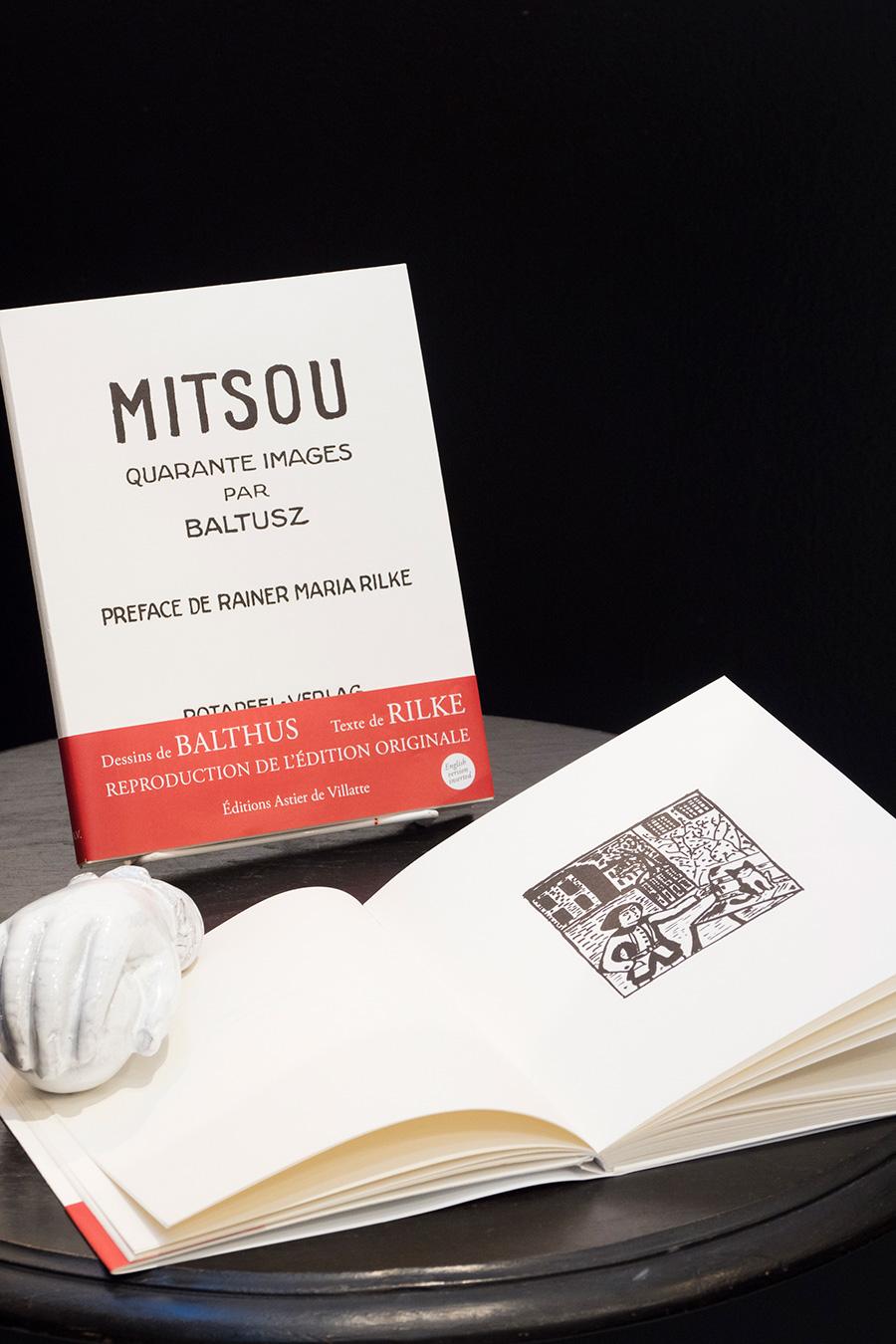 1921年に出版された「MITSOU」のオリジナルを、アスティエ・ド・ヴィラットが所有する活版工房で忠実に復刻。