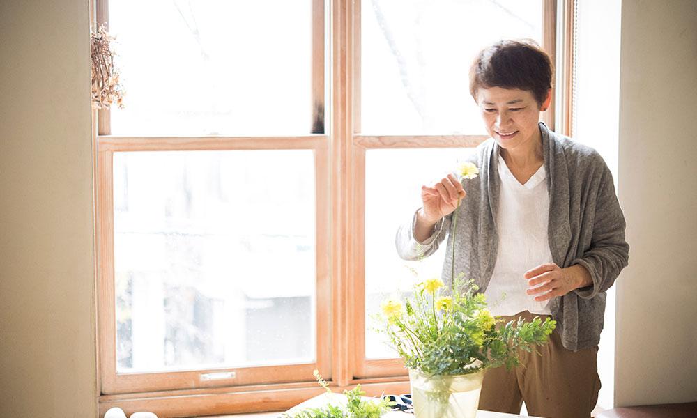 暮らしに寄り添う草花 Part1  身近な植物や生活雑貨で 四季を彩る1年に