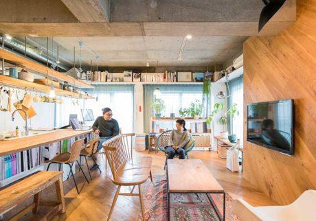 家具としてのバスルーム自由な発想で生まれた変化が楽しいワンルーム