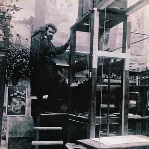 ベルナール・アルビン・グラ (1886 – 1943) フランスの建築家で、20世紀の最も革新的なデザイナーの1人。