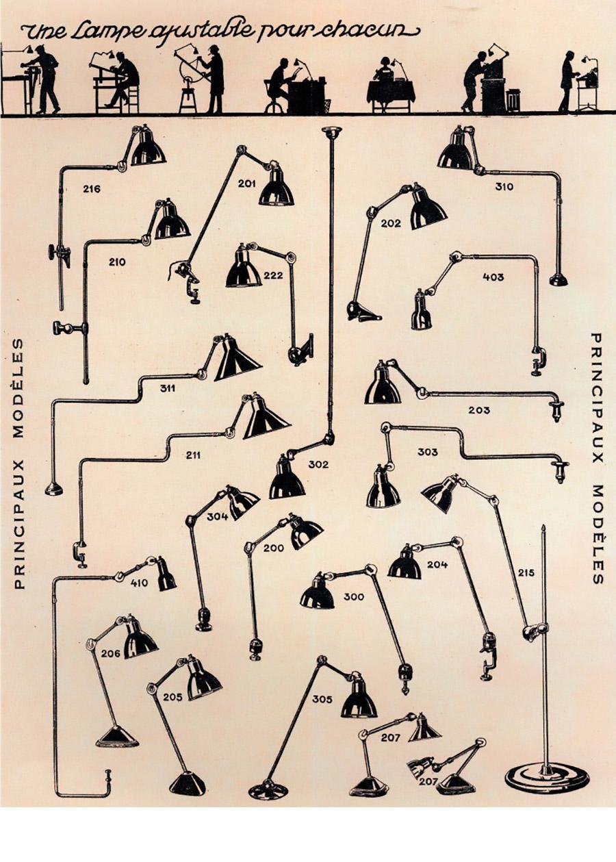 「The Lampe Gras」シリーズが描かれた当時ポスター。