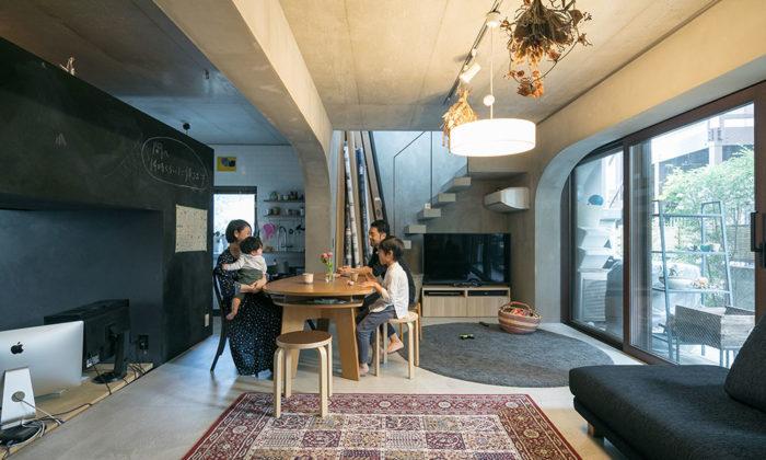 コーポラの魅力を存分に楽しむ設計から参加できる集合住宅は床を掘り下げることも可能