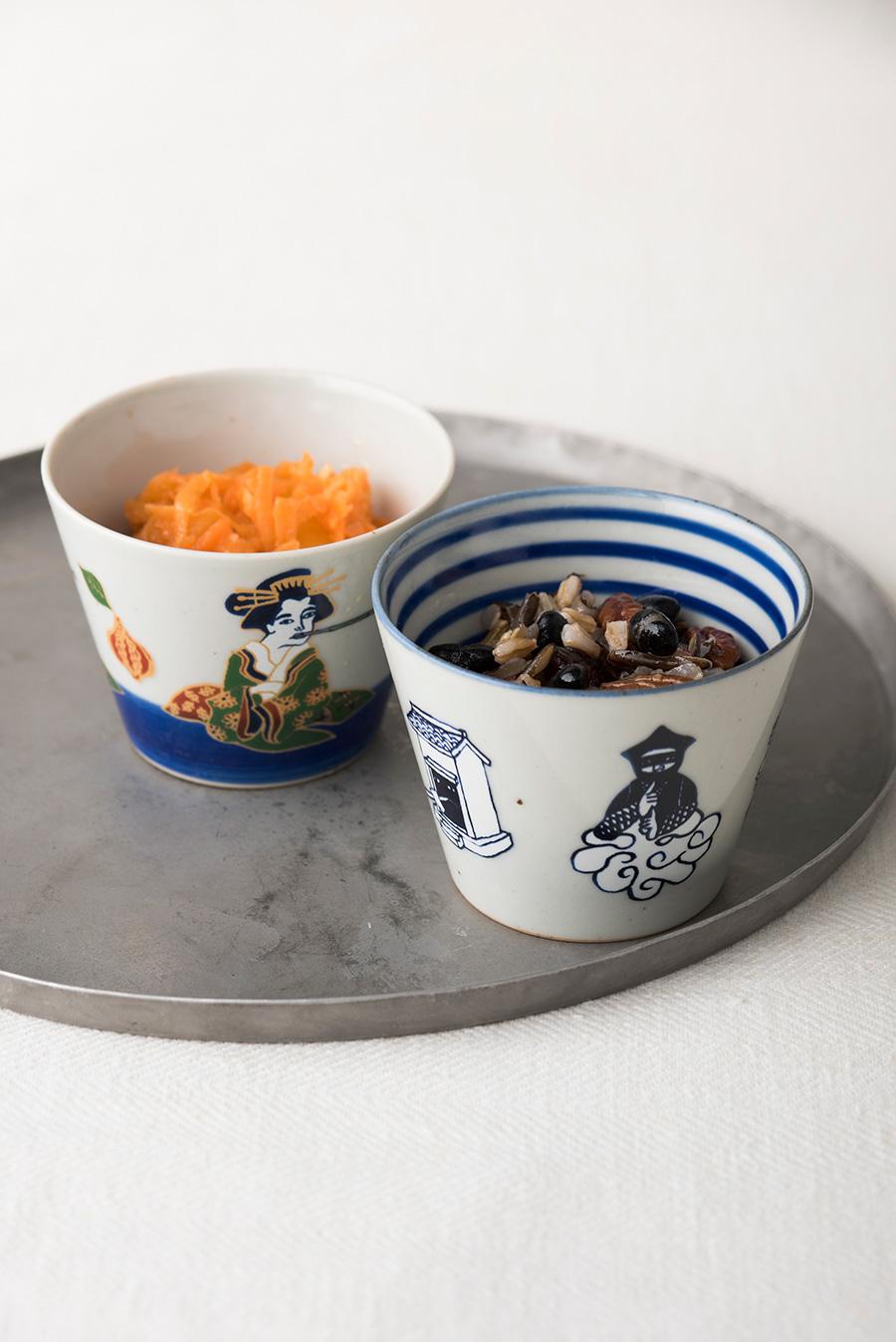 副菜の小鉢として、普段使いに。普段と少し違うお洒落な演出にぴったり。