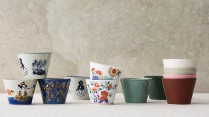 波佐見焼のそば焼酎 小鉢からティーカップまで、 マルチに使えるフリーカップ
