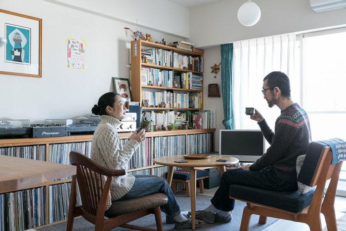 夫婦二人暮らしのスタイル自分たちのスケールで暮らし方に合う部屋づくりを