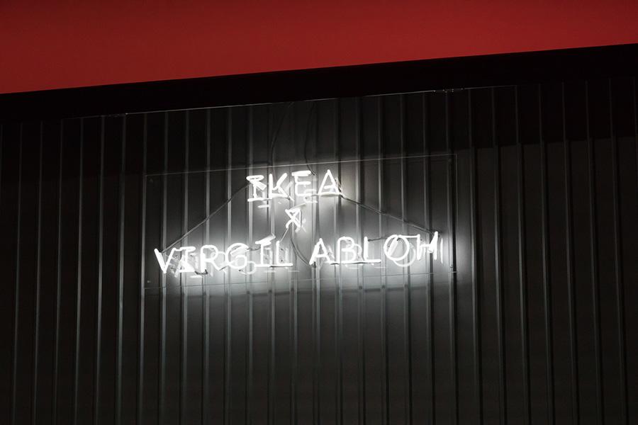 イケア×ヴァージル・アブローのコラボレーションの発表イベントが東京の寺田倉庫で行われた。