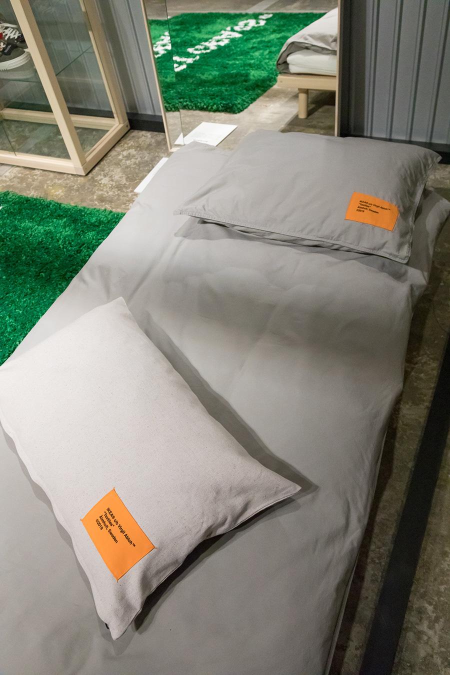 初めての一人暮らしを想定した『MARKERAD』コレクションには、寝具のラインナップも。