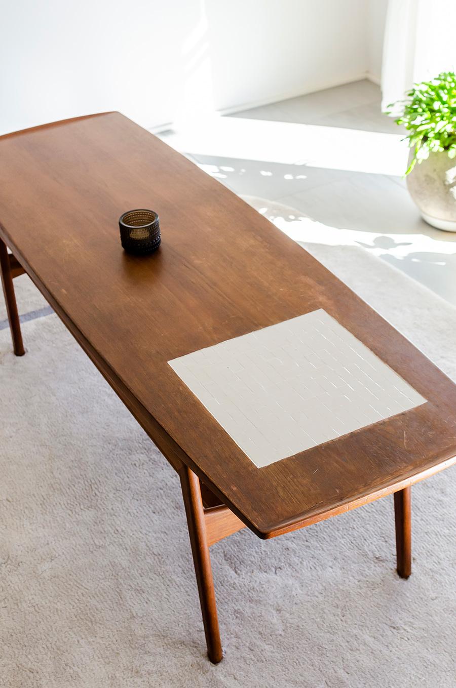 デンマーク家具店「haluta」で買ったテーブル。