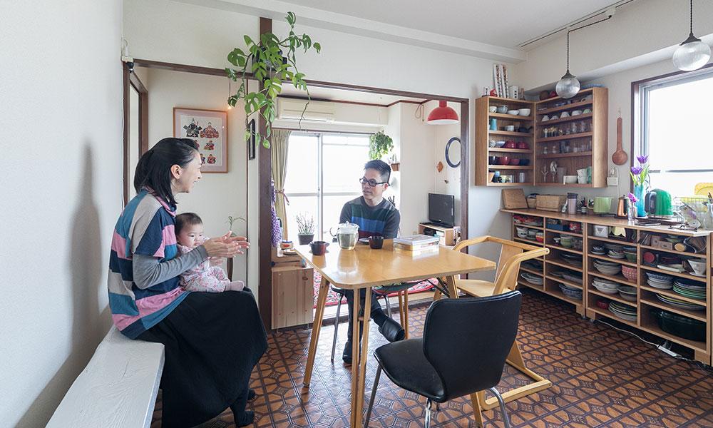 西荻窪の住まい 吟味した好きなものだけの ほっとする部屋