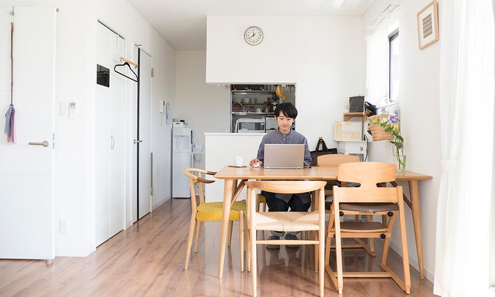 賃貸でもすっきり快適に  暮らし方を中心に据えた 本多さんの収納ストーリー