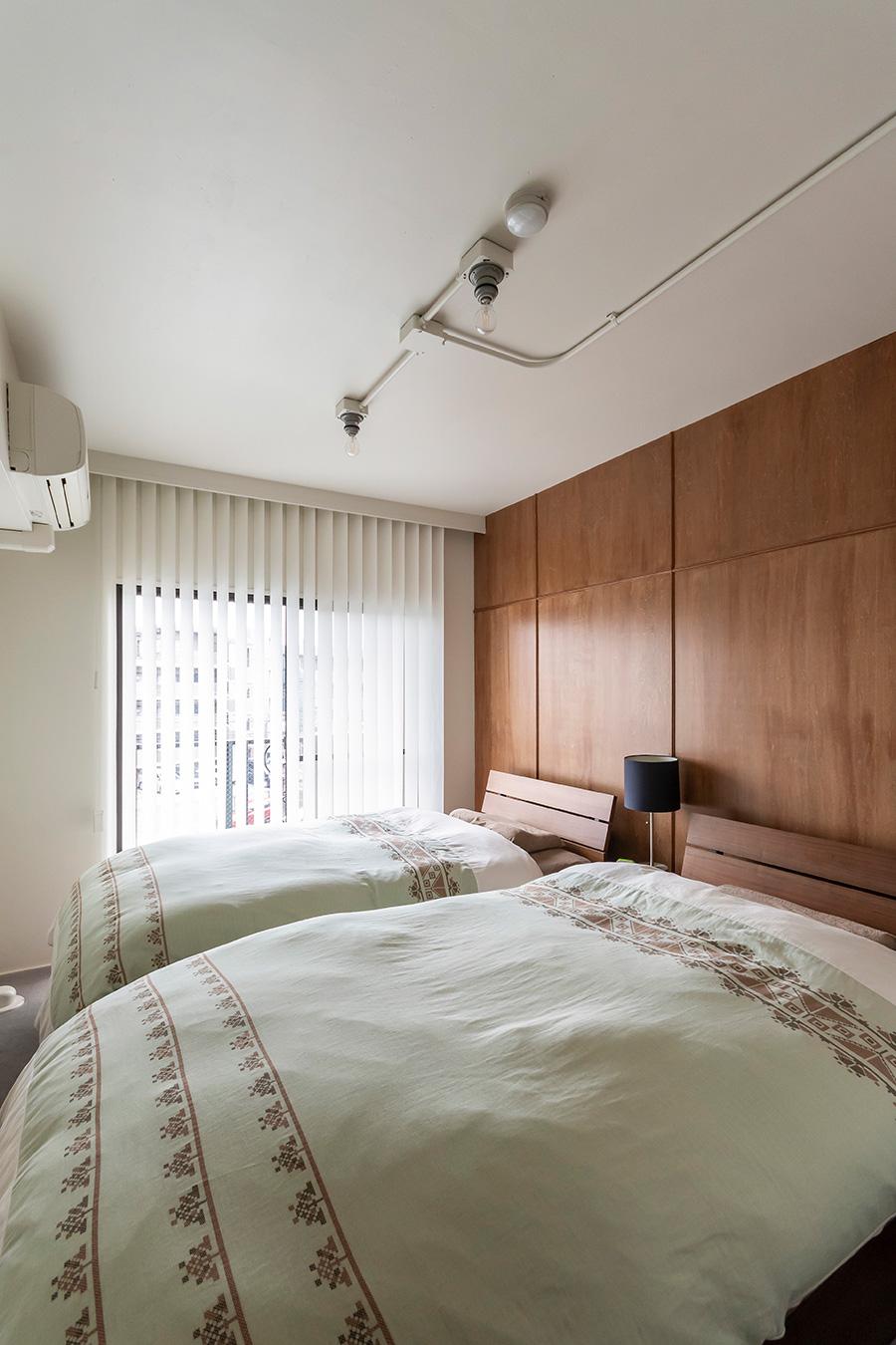 ご夫妻の寝室。