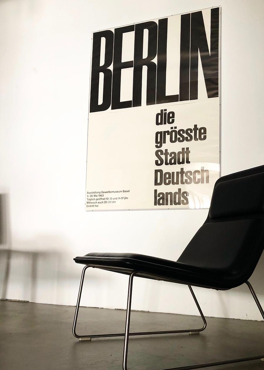 Emil Ruder / BERLIN – die grösste Stadt Deutschlands (アクリルフレーム付) ¥450,000