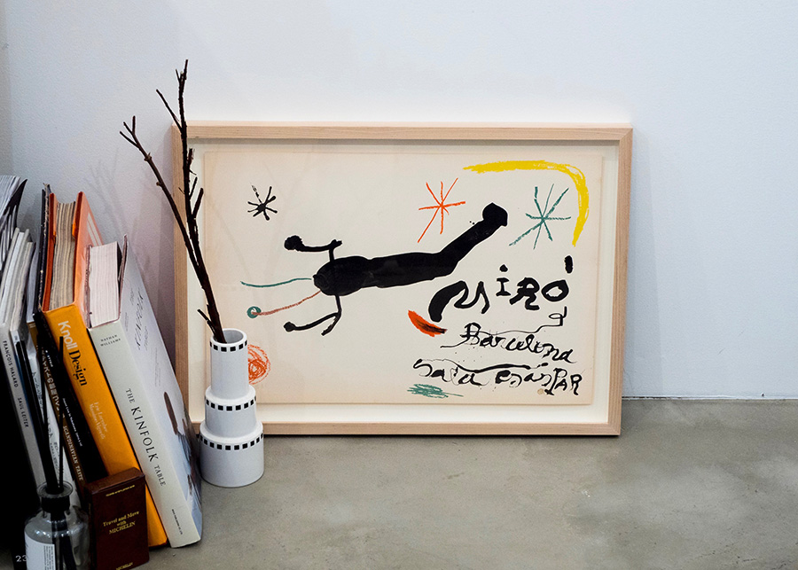 "Joan Miró / Cover from ""Album 19""  (ポスターのみ) ¥16,000"