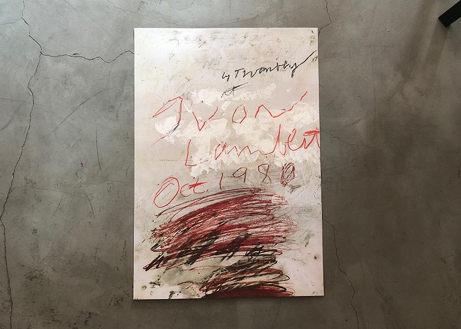 Cy Twombly / Yvon Lambert 1980  (ポスターのみ) ¥35,000