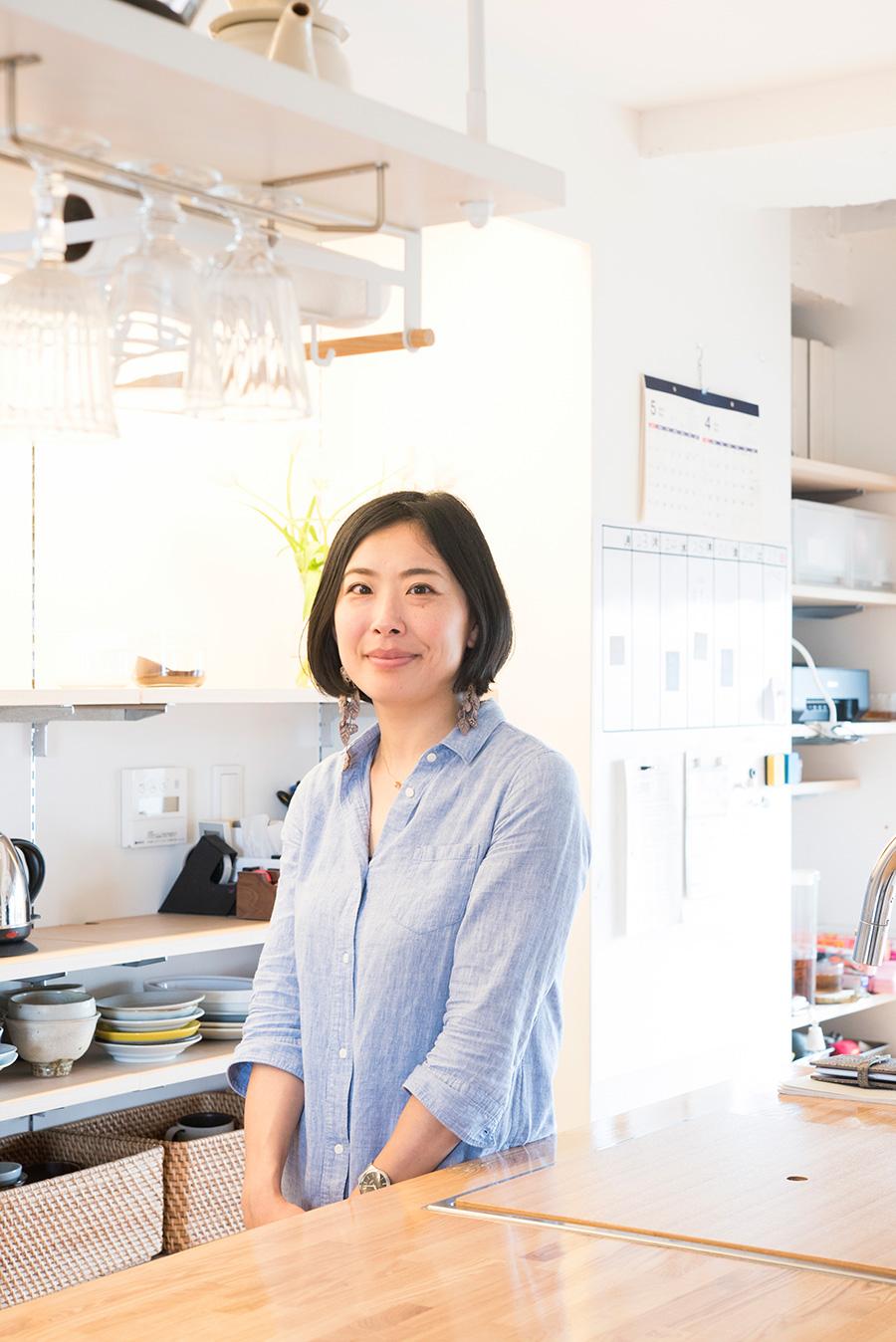 一級建築士・瀧内未来さん。kurachiffon代表。ライフスタイルに応じた空間づくりを提案してくれる。