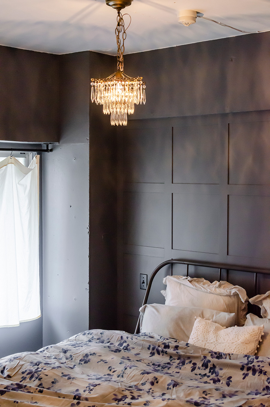 寝具は全て『Zara Home』で揃えた。