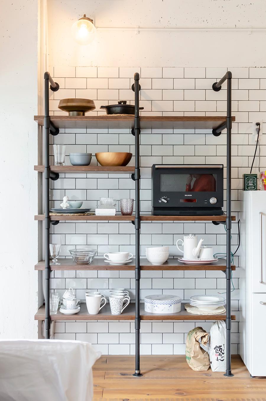 食器棚は『HOUSETRAD』社で造作。