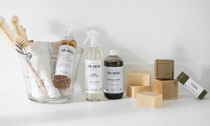 フランス生まれの石鹸FER A CHEVALの伝統的なマルセイユソープ