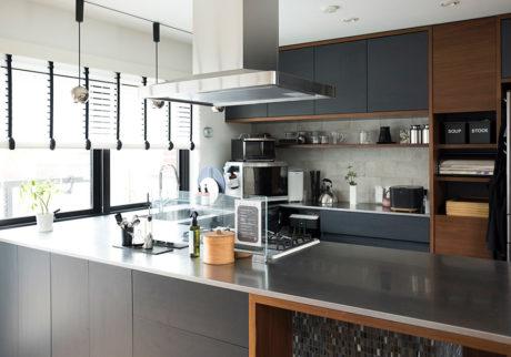 ライフオーガナイザー®の快適ライフPart1大家族も余裕で暮らせるキッチンまわりのシステム創り