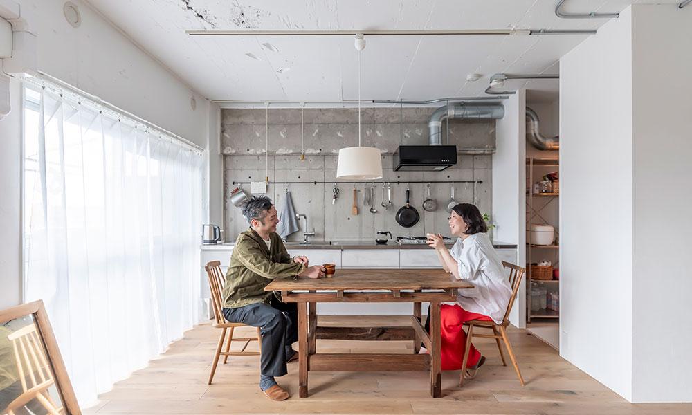 遠距離からの新婚リノベ 小説『キッチン』の世界観をテーマに据えて