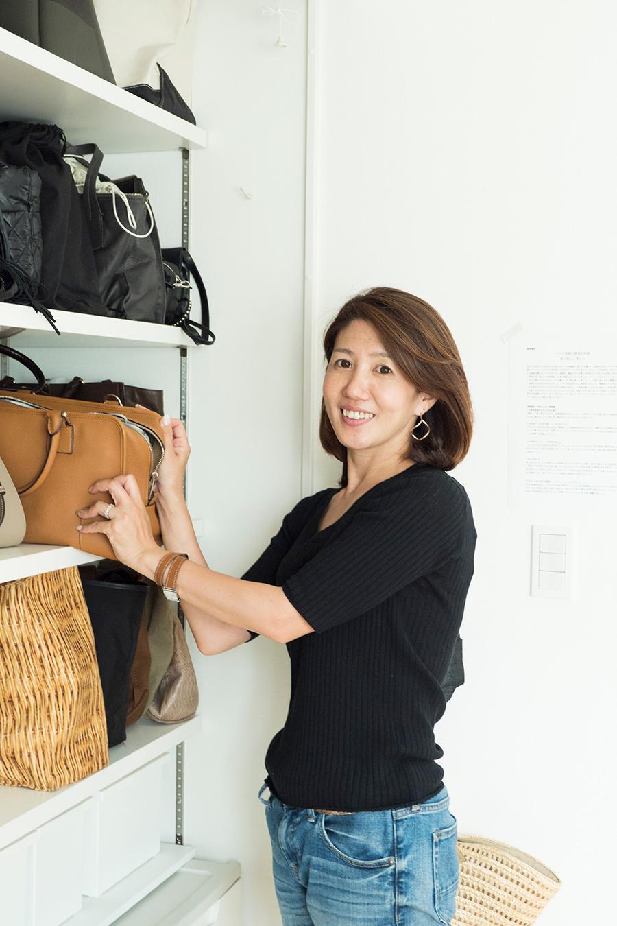 ライフオーガナイザー®森下敦子さん。片づけとともに心も整い始めた経験から、笑顔でいられる仕組みづくりをお手伝い。SMART STORAGE!所属。ブログも人気。