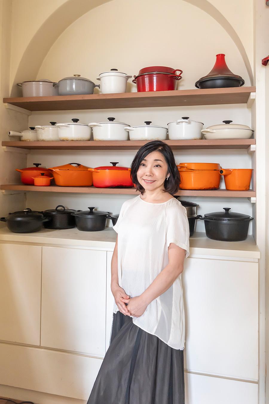 料理研究家・平野由希子さん。大井町のワインバー「8huit.」オーナー。料理教室「cuisine et vin」も開催する。フランス料理をベースにした料理のほか、数々の料理に関する著書も執筆。