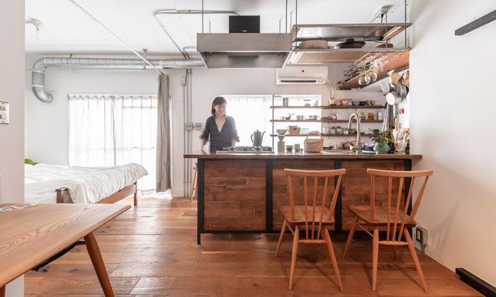 万能キッチンがあるきちんと使いきれるちょうどいい間取りの部屋
