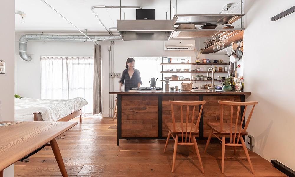 万能キッチンがある きちんと使い切れる ちょうどいい間取りの部屋