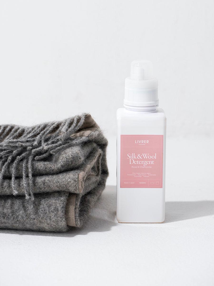 シルク&ウール用洗剤 <シルク、ウールなどのデリケート繊維用> 600ml ¥4,000
