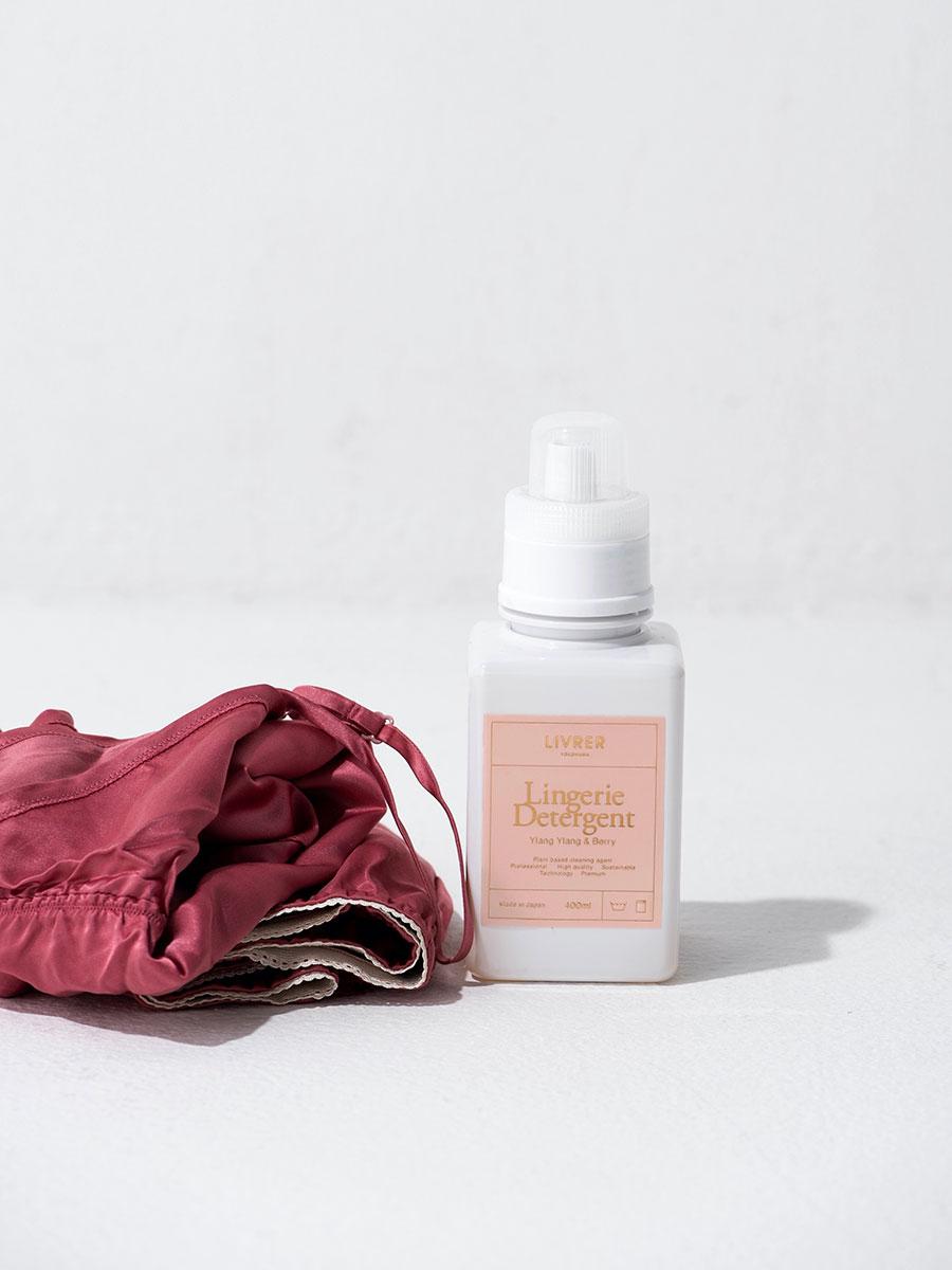 ランジェリー用洗剤 <シルク、シフォン、レースなどの下着用> 400ml ¥3,000