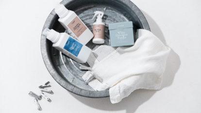 プロの洗濯術 リブレ ヨコハマが開発した オリジナルのナチュラル洗剤
