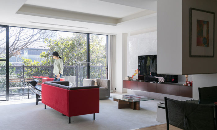 アイデアは仕事先で旅先で日本・フランス文化の ほどよい調和を感じる空間