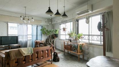 アンティーク家具が似合う家