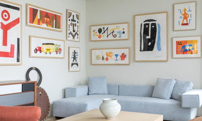 「IDÉE SHOP Jiyugaoka」が指南空間に生命を吹き込むインテリアとしてのアート