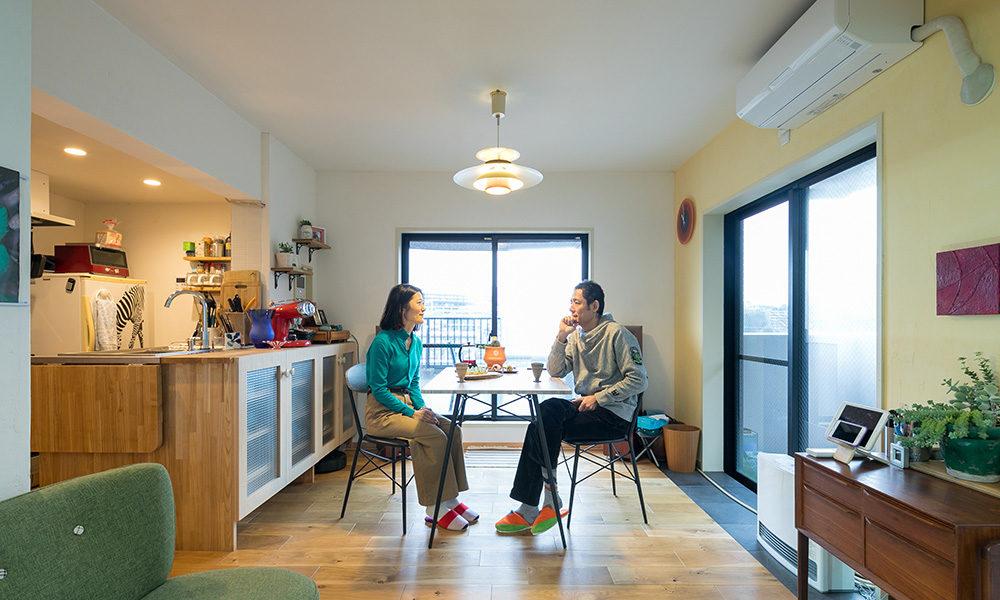 """生活と趣味が重なり合う """"家でくつろぐ""""をテーマに楽しむ空間創り"""
