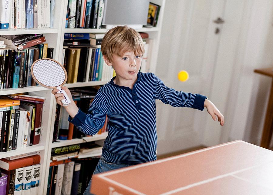 子供から大人まで楽しめる室内スポーツ。