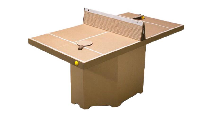 テニーノ 組立テーブルテニス(ブラウン)W1630 D770 H900mm ¥12,400 キックパック