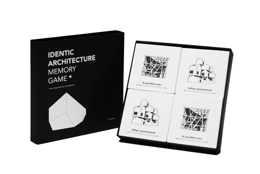 アイデンティック建築記憶ゲーム ¥3,000 サンクポアン