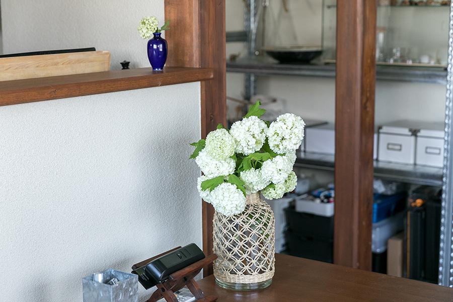 花は1カ月持たせることを目標に世話をしているという。