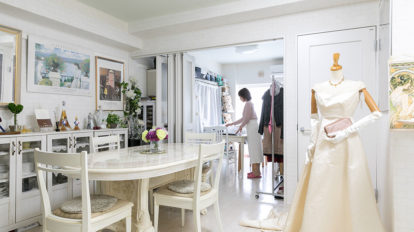 住まい手が見える住空間 プリマの楽屋をイメージした バレエ愛あふれる部屋づくり