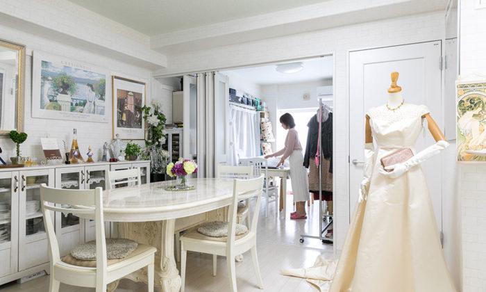 住まい手が見える住空間プリマの楽屋をイメージしたバレエ愛あふれる部屋づくり