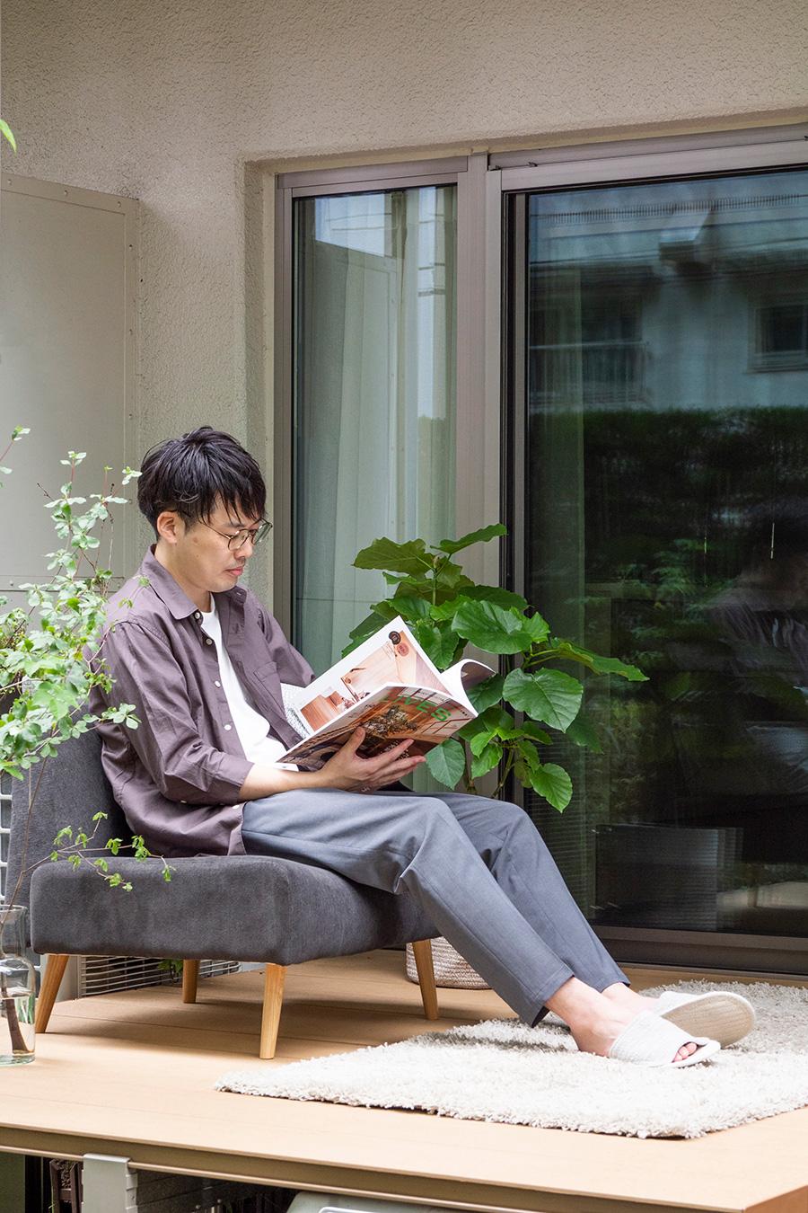 建築士・茂木哲さん。茂木哲建築設計事務所を2022年に設立予定。
