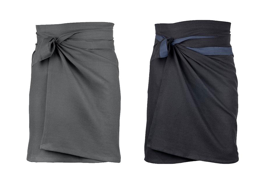 GIANT KITCHEN TOWEL (ダークグレー・ブラック/ダークブルー・クレイ ) 155×60cm 各¥5,000