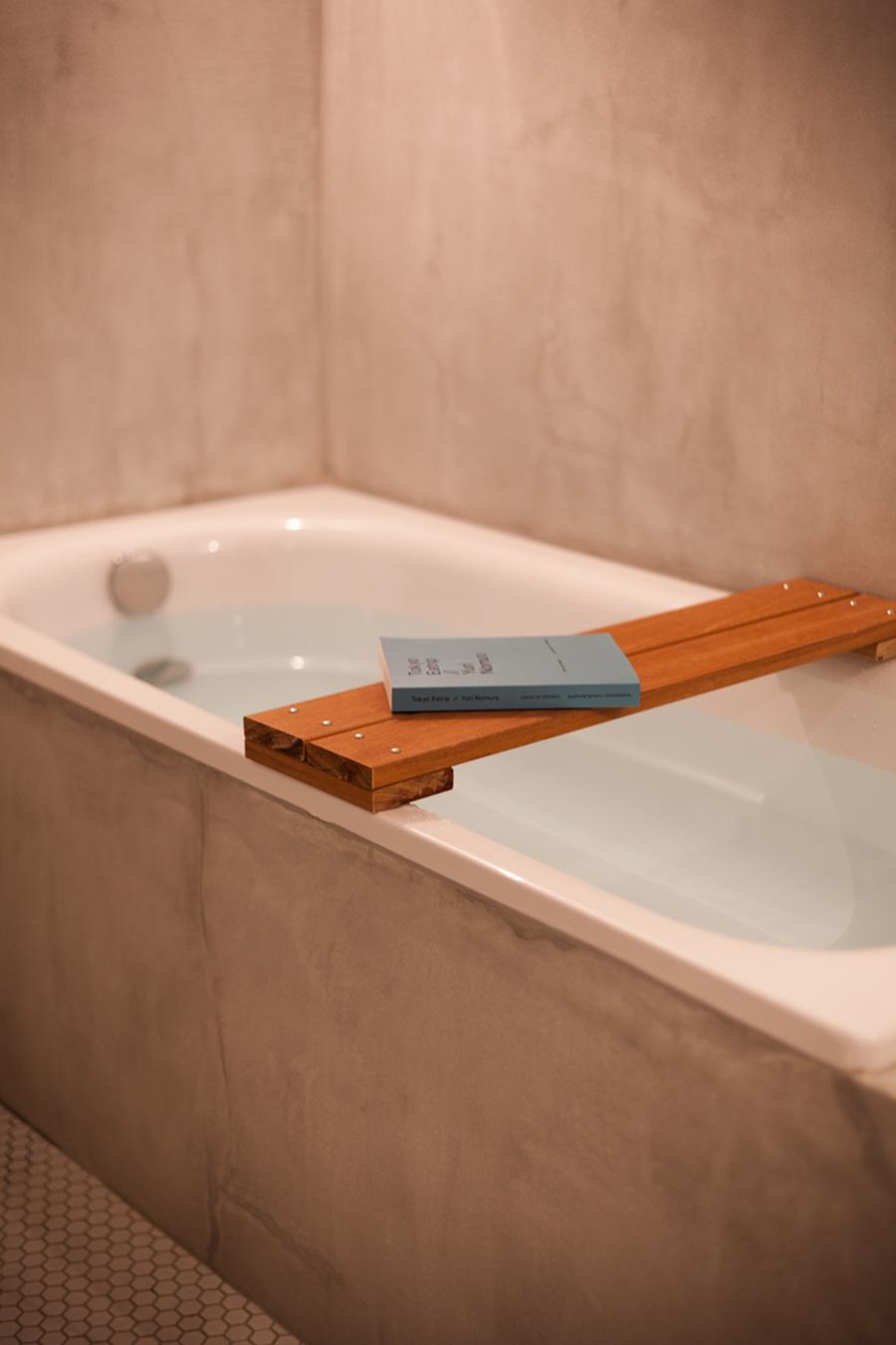 音楽を聴きながらゆったりお風呂に浸かるのが楽しみ。