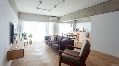 築30年のフルリノベーション   意匠性と機能性を両立した ヴィンテージが似合う家