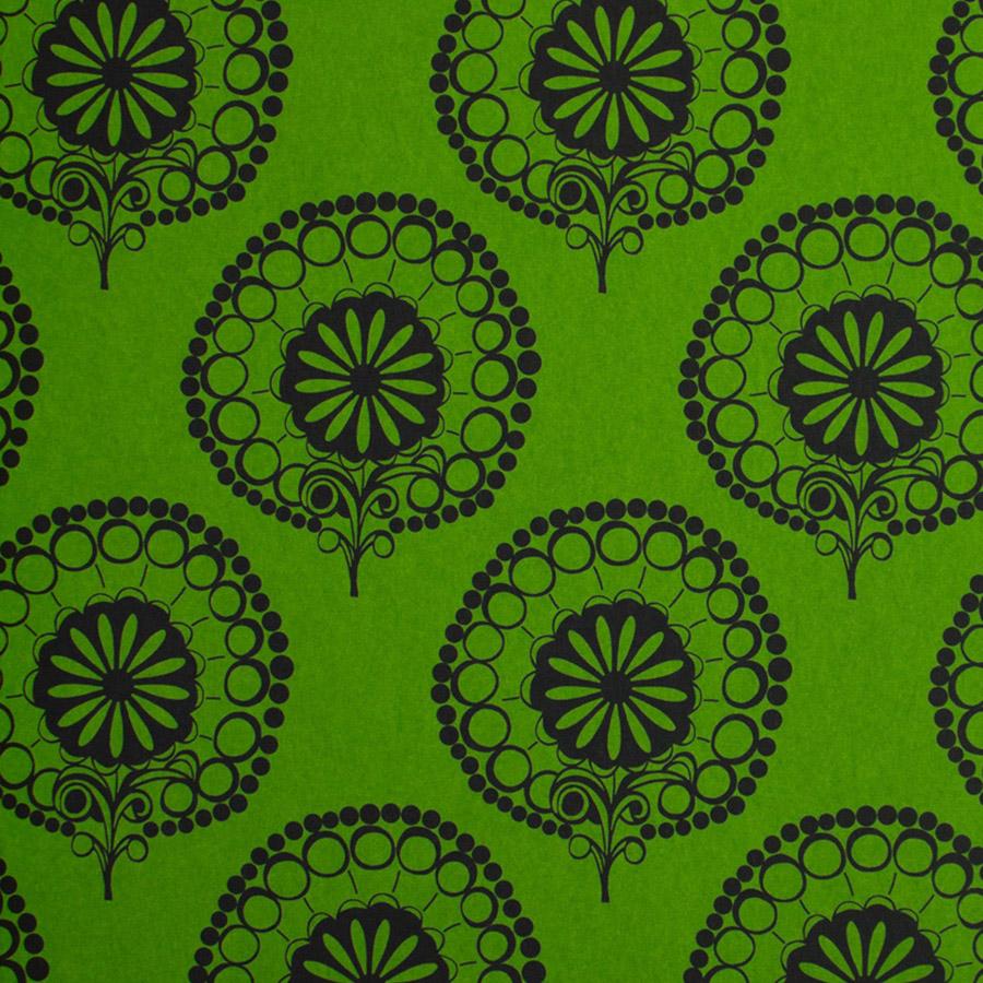 フランスのTEXDECOR社のダマスク柄の壁紙。光を吸い込む不織布素材。