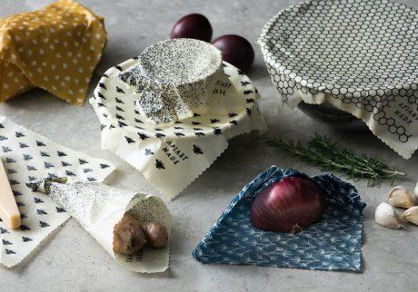 Apiary Madeのミツロウラップ繰り返し使えて、食品も長持ちメルボルン発のエコラップ