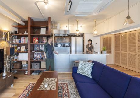 自宅にワークスペースを併設 職種に合わせて、使い勝手のよさを追求した家づくり