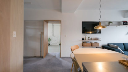 建築家夫妻のリノベーション 1つの家に2つのニュアンス、 余白が作る豊かなゆとり